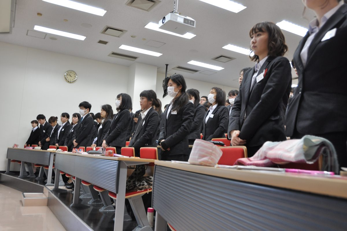 校内企業セミナーが開催されました。